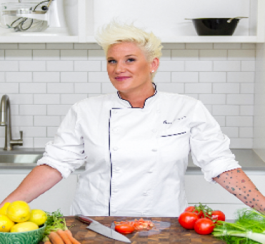 Image of Anne Burrell Cazenovia New York at Professional Organization of Women of Excellence Recognized